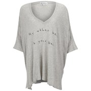 Wildfox Women's Sunday Morning V Neck My Other Bed Top - Vintage Lace