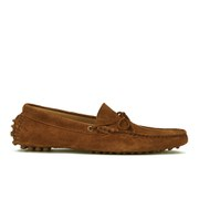 H Shoes by Hudson Men's Ricardo Suede Slip On Loafers - Tan