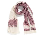 By Malene Birger Women's Antiqua Printed Scarf - Red