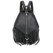 Rebecca Minkoff Women's Julian Backpack - Black/Silver Hardware