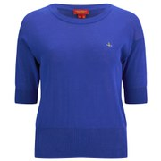 Vivienne Westwood Red Label Women's Knitted T-Shirt - Royal Blue