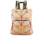 Etc by Orla Kiely Women's Giant Linear Stem Backpack - Stone