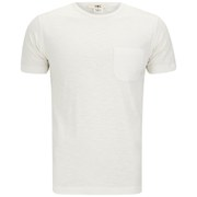YMC Men's Classic Pocket Cotton Slub Jersey T-Shirt - White