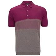 John Smedley Men's Tiller Slim Fit Sea Island Cotton Polo Shirt - Raspberry