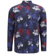 Wood Wood Men's Paradiski Shirt - Tropical Navy