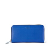Paul Smith Accessories Large Zip Around Purse - Royal Blue
