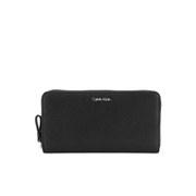 Calvin Klein Women's Sofie Large Zip Around Purse - Black