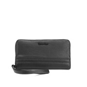 Calvin Klein Women's Esther Zip Around Purse - Black