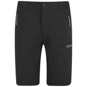 Regatta Men's Point 214 Fellwalk Water Repellent Stretch Shorts - Black