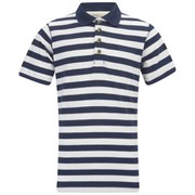 Regatta Men's Second Wind CoolWeave Polo Shirt - Navy/White