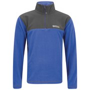 Regatta Men's Thom 1/4 Zip 170 Series Anti Pill Fleece Top - Oxford Blue