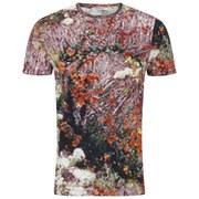 Carven Men's Tree Print T-Shirt - Multi