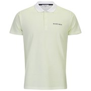 Carven Men's Embroidered Logo Pique Polo Shirt - Almond