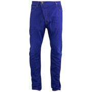 Vivienne Westwood Anglomania Men's Asymmetric Jeans - Blue Denim