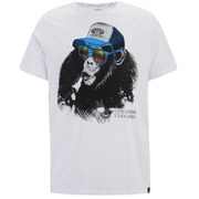 Animal Men's Loko Graphic Print T-Shirt - White