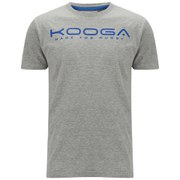 Kooga Men's Cotton Logo T-Shirt - Grey Marl