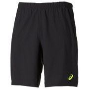Asics Men's 2-in-1 9 inch Running Shorts - Black/Safety Yellow