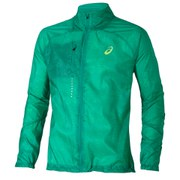 Asics Men's Lightweight Running Jacket - Skyline Jungle Green