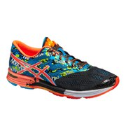 Asics Men's Gel Noosa Tri 10 Triathlon Running Shoes - Black/Flash Orange/Flash Yellow
