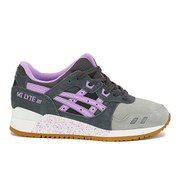 Asics Women's Gel-Lyte III Trainers - Dark Grey/Sheer Lilac
