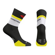 Northwave Men's Logo High Socks - Black/Yellow