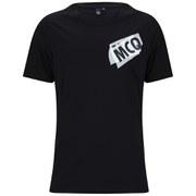 McQ Alexander McQueen Men's Dropped Shoulder T-Shirt - Darkest Black