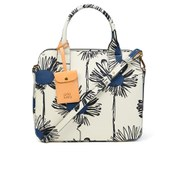 Orla Kiely Women's Small Jeanie Scribble Sunflowers Tote Bag - Indigo