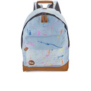 Mi-Pac Premium Splattered Stonewash Backpack - Denim