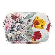 Mi-Pac Bloom Make Up Bag - Multi/White