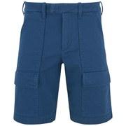 Lacoste L!ve Men's Cargo Short - Blue