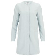 Vero Moda Women's Money Pastel Coat - Baby Blue