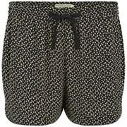 Maison Scotch Women's Summery Silky Feel Shorts - Black/Cream