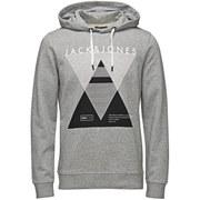 Jack & Jones Men's Covan Hoody - Light Grey