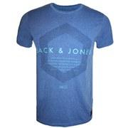 Jack & Jones Men's 1975 Construct T-Shirt - Turkish Sea