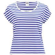 Vero Moda Women's Beaty Striped Top - Olympian Blue
