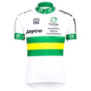 Santini Australian National Team 15 Short Sleeve Jersey - White