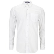 GANT Men's Colour Oxford Long Sleeve Shirt - White