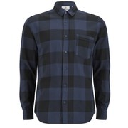 Cheap Monday Men's Neo Flannel Shirt - Indigo Check