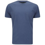 Marc by Marc Jacobs Men's Solid Slub Pocket T-Shirt - Teal