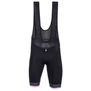 Santini UCI Rainbow Fashion Line Bib Shorts - Black/White
