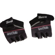 Santini Giro d'Italia 2016 Maglia Nero Race Gloves - Black