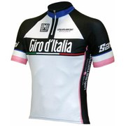 Santini Giro d'Italia 2015 Leaders Kids' Short Sleeve Jersey - Pink