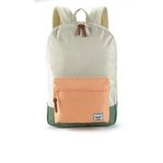 Herschel Supply Co. Women's Settlement Mid Volume Backpack - Natural/Mango/Crosshatch/Foliage/Mango Rubber