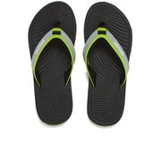 Rip Curl Men's The Ten Gabriel Medina Signature Pro Flip Flops - Black/Lime