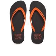 Rip Curl Men's MC EVA Flip Flops - Black/Orange