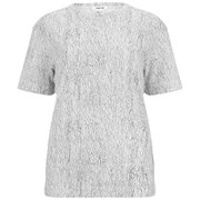 Helmut Lang Women's Lightning Print Washed Jersey T-Shirt - White