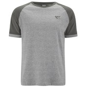 Gola Men's Ralph Colour Block T-Shirt - Grey Marl/Pewter