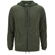American Vintage Men's Light Weight Zipped Jacket - Green
