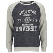 Soul Star Men's MSW Maine University Sweatshirt - Navy