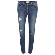 Paige Women's Verdugo Ultra Skinny Jeans with Caballo Inseam Danica - Blue